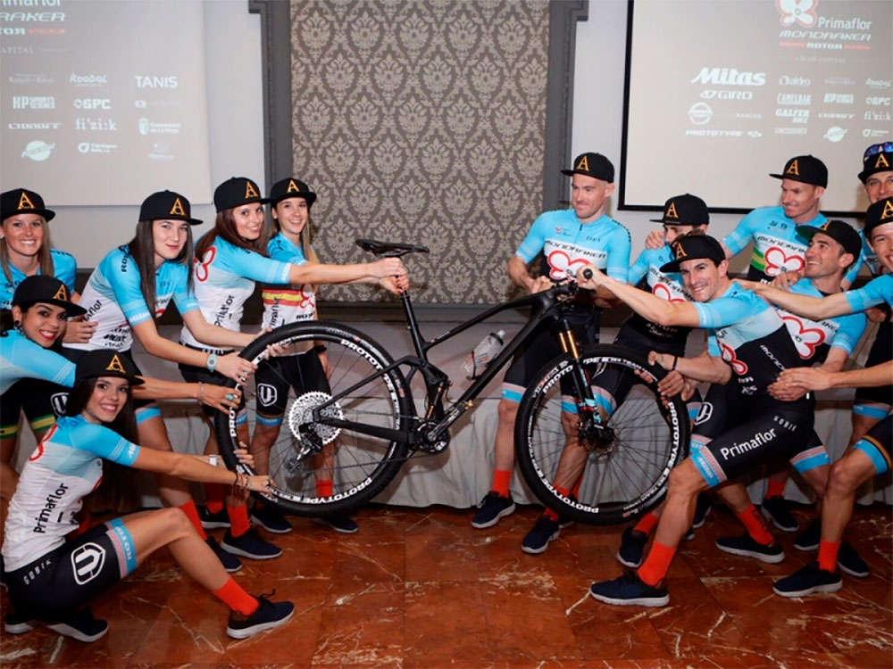En TodoMountainBike: Presentación oficial de la plantilla del Primaflor-Mondraker-Rotor Team para 2018