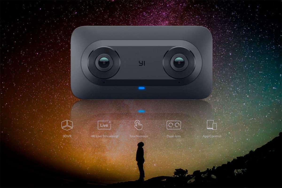 Xiaomi y Google presentan la YI Horizon VR180, una cámara de acción con captura de vídeo 3D a 5.7K