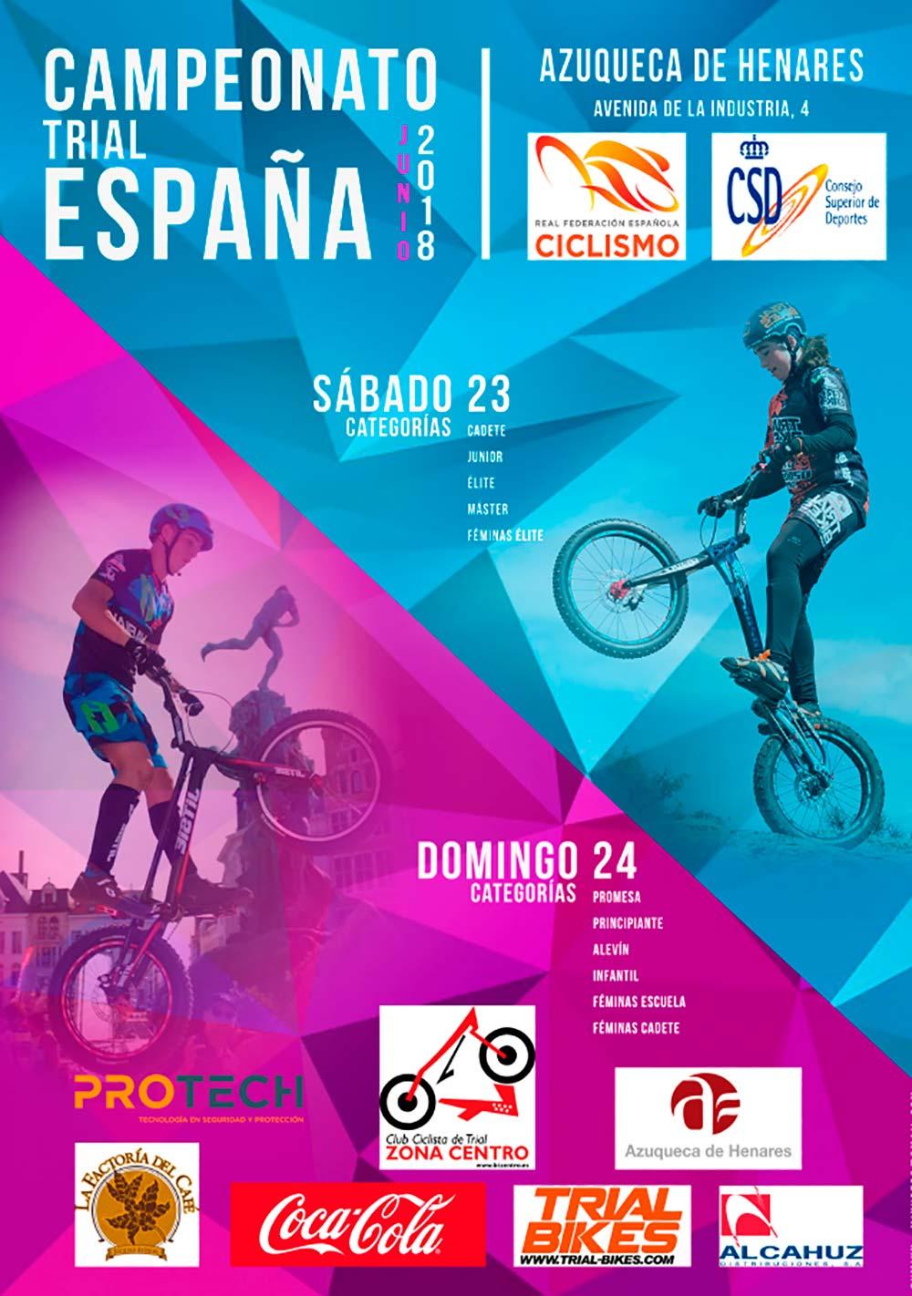 El Campeonato de España de Bike Trial 2018 llega a Azuqueca de Henares