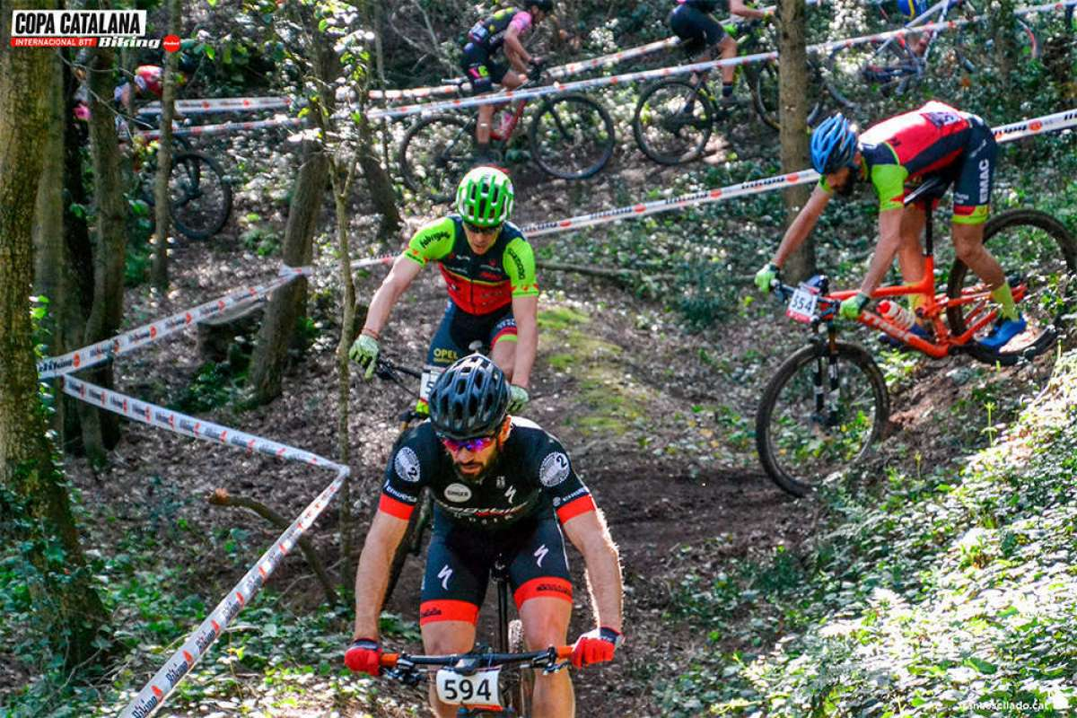 La Copa Catalana Internacional BTT Biking Point 2018 llega a Santa Susanna