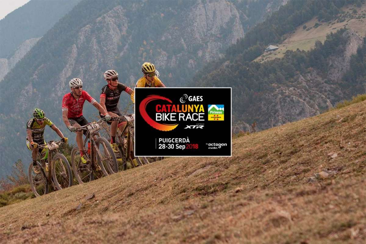La GAES Catalunya Bike Race shifted by XTR 2018 repite éxito de inscripción, y de corredores destacados