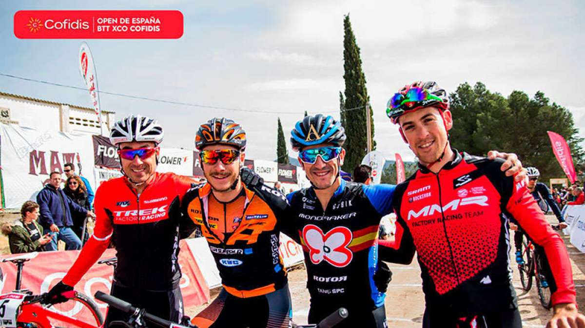 Todo listo para el Gran Premio Diputación de Valencia de Chelva, primera prueba del Open de España XCO Cofidis 2018