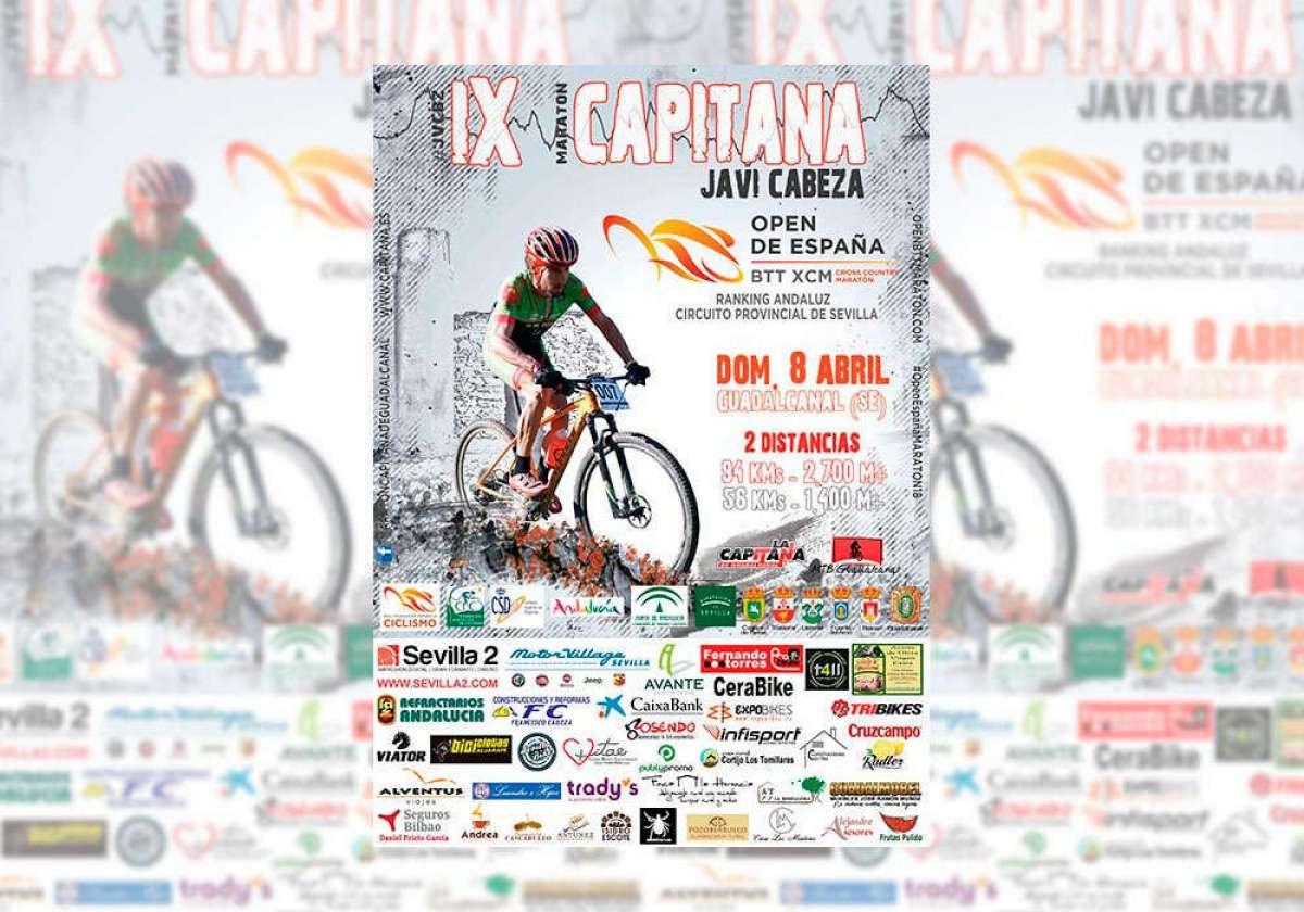 Guadalcanal acoge la IX Maratón Capitana Javi Cabeza, segunda prueba del Open de España XCM 2018