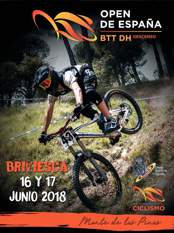El Open de España DHI 2018 llega a su final en la localidad burgalesa de Briviesca