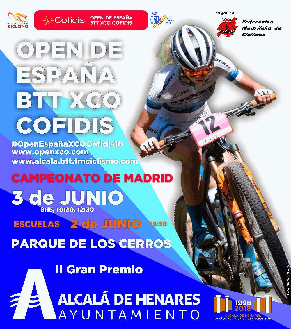El Open de España XCO Cofidis 2018 llega a su final en Alcalá de Henares