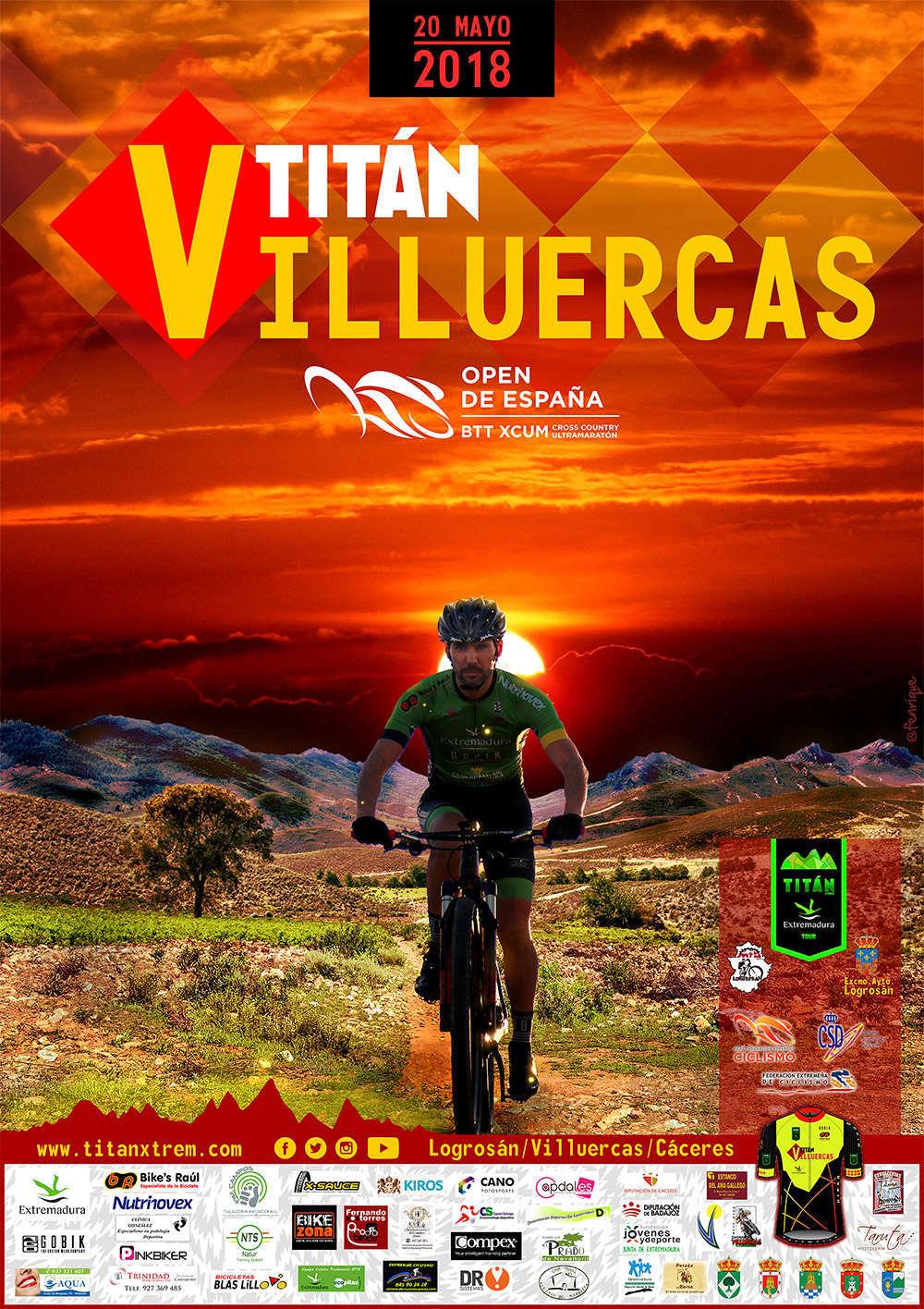 La Titán Villuercas acoge la penúltima prueba del Open de España XCUM 2018