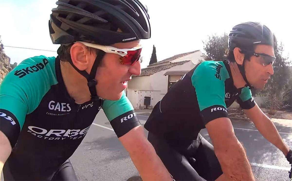 La primera etapa de la Costa Blanca Bike Race 2018, con Ibon Zugasti y Alberto Losada