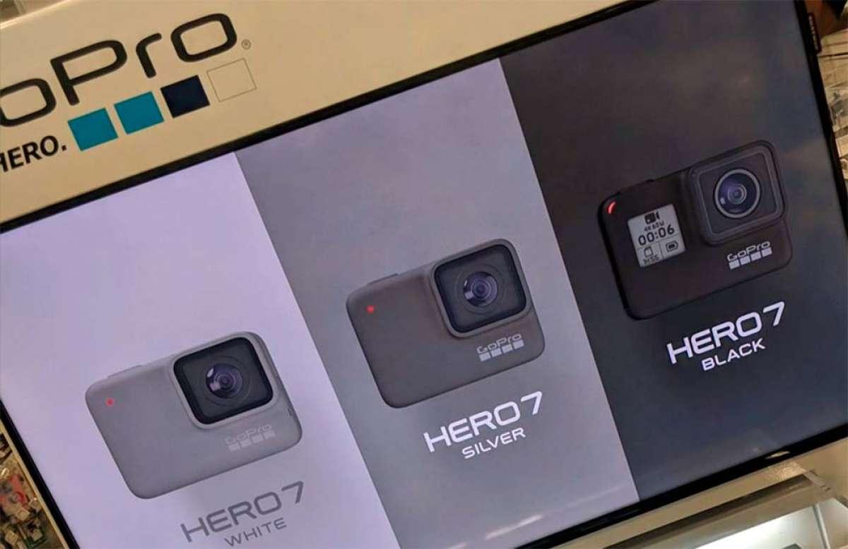 Se filtran las primeras imágenes de la GoPro Hero 7: hay tres versiones y su lanzamiento es inminente