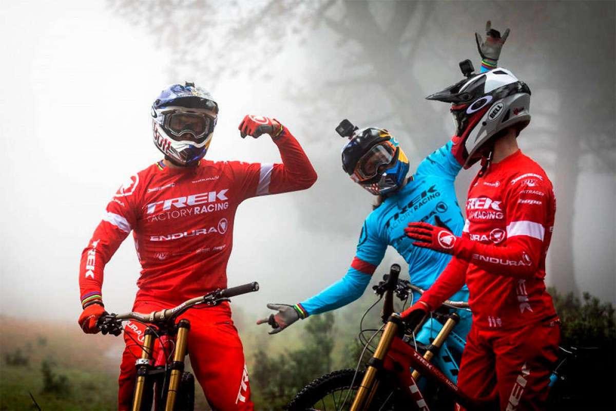 Probando material en los montes de Málaga con el Trek Factory Racing DH