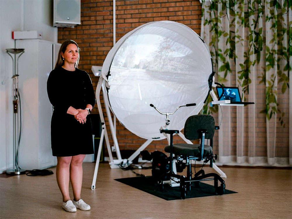 En TodoMountainBike: BikeAround, un proyecto para ayudar a enfermos de Alzheimer con una bicicleta estática y Google Street View