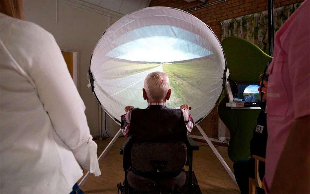 BikeAround, un proyecto para ayudar a enfermos de Alzheimer con una bicicleta estática y Google Street View