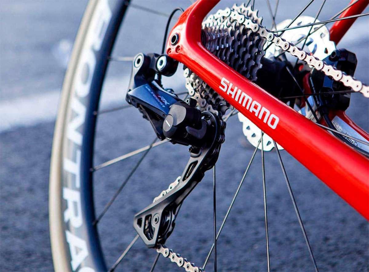 Probando los cambios Shimano Ultegra RX con el Trek-Segafredo