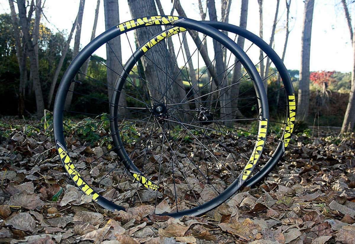 A prueba: Ruedas de carbono Trackstar 29 Premium 32-XCL