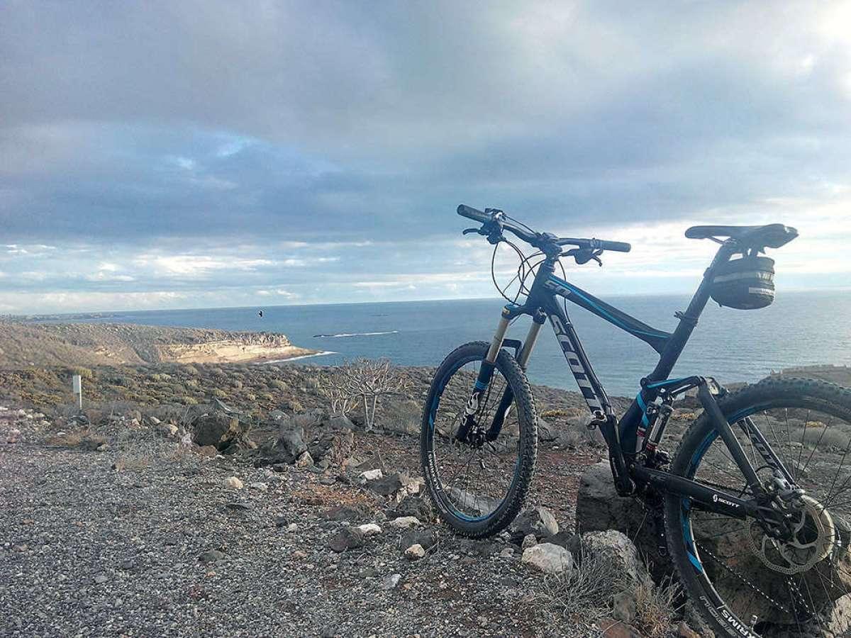 """La foto del día en TodoMountainBike: """"Tormenta en Tenerife"""""""