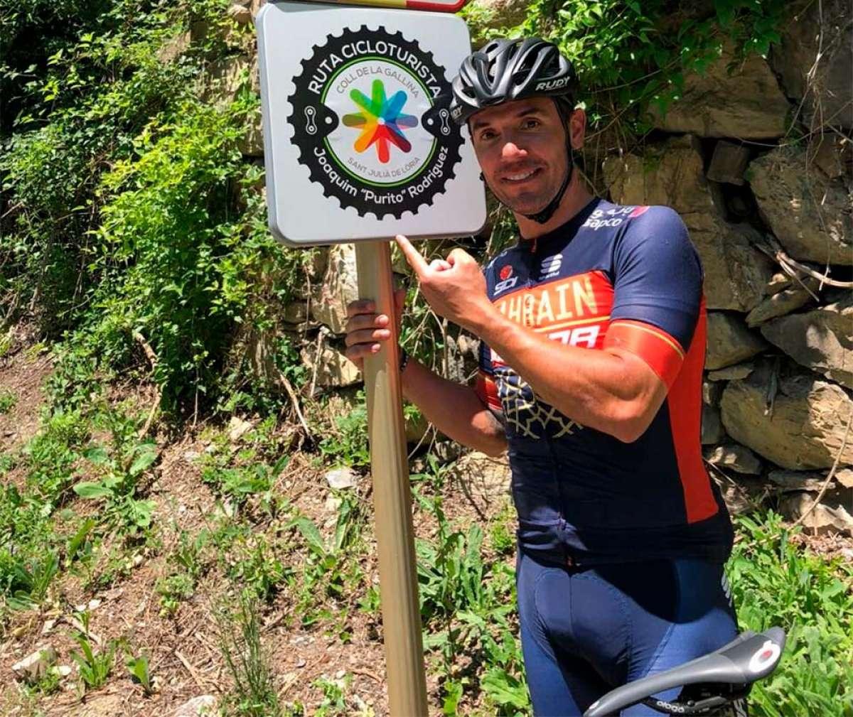 """'Purito' Rodríguez invita a Pedro Sánchez a salir en bici: """"Un par de horas de carretera será suficiente para que nos entiendas"""""""