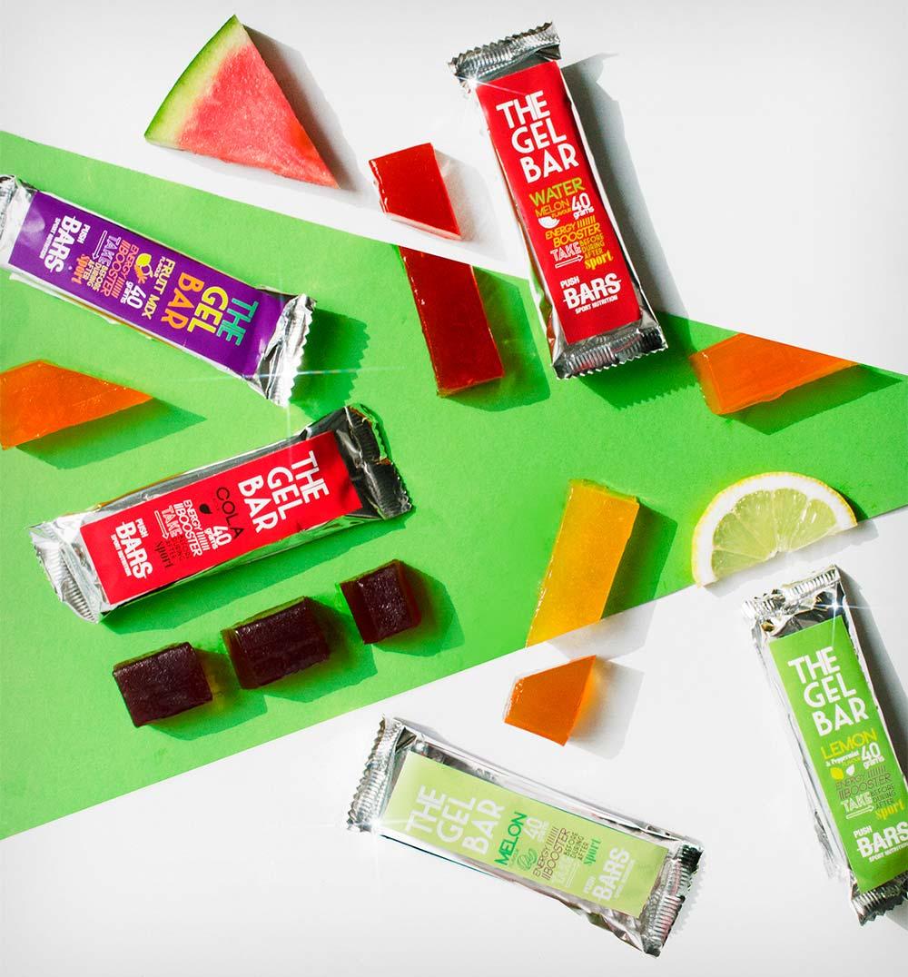 Push Bars introduce el sabor Cola en su gama de barritas energéticas gelificadas