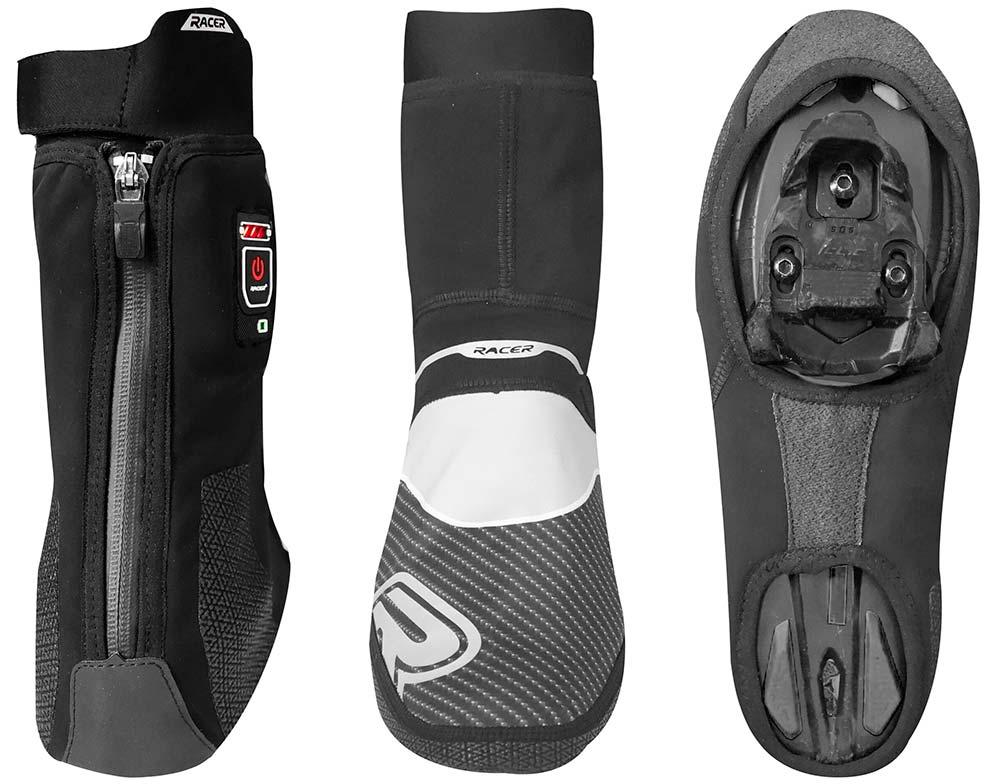 En TodoMountainBike: Racer E-Cover, unos cubrebotas calefactados para rodar con los pies calentitos en invierno