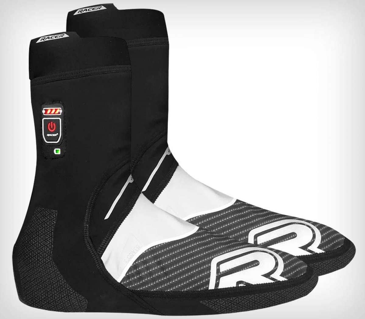 Racer E-Cover, unos cubrebotas calefactados para rodar con los pies calentitos en invierno