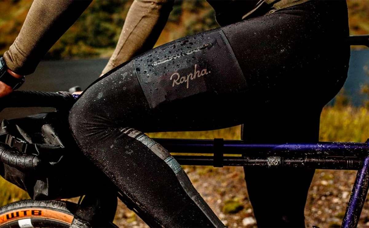 Rapha Explore Cargo Winter, un culotte de invierno con múltiples bolsillos y visibilidad mejorada