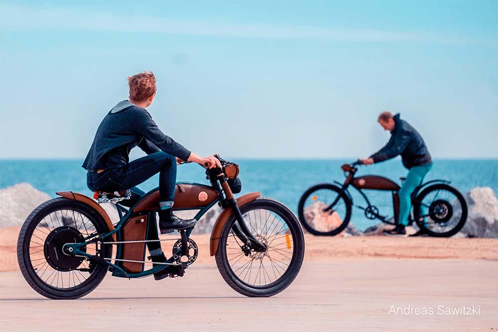 En TodoMountainBike: Raybolt Cruzer, una sorprendente bicicleta eléctrica con estética de motocicleta clásica