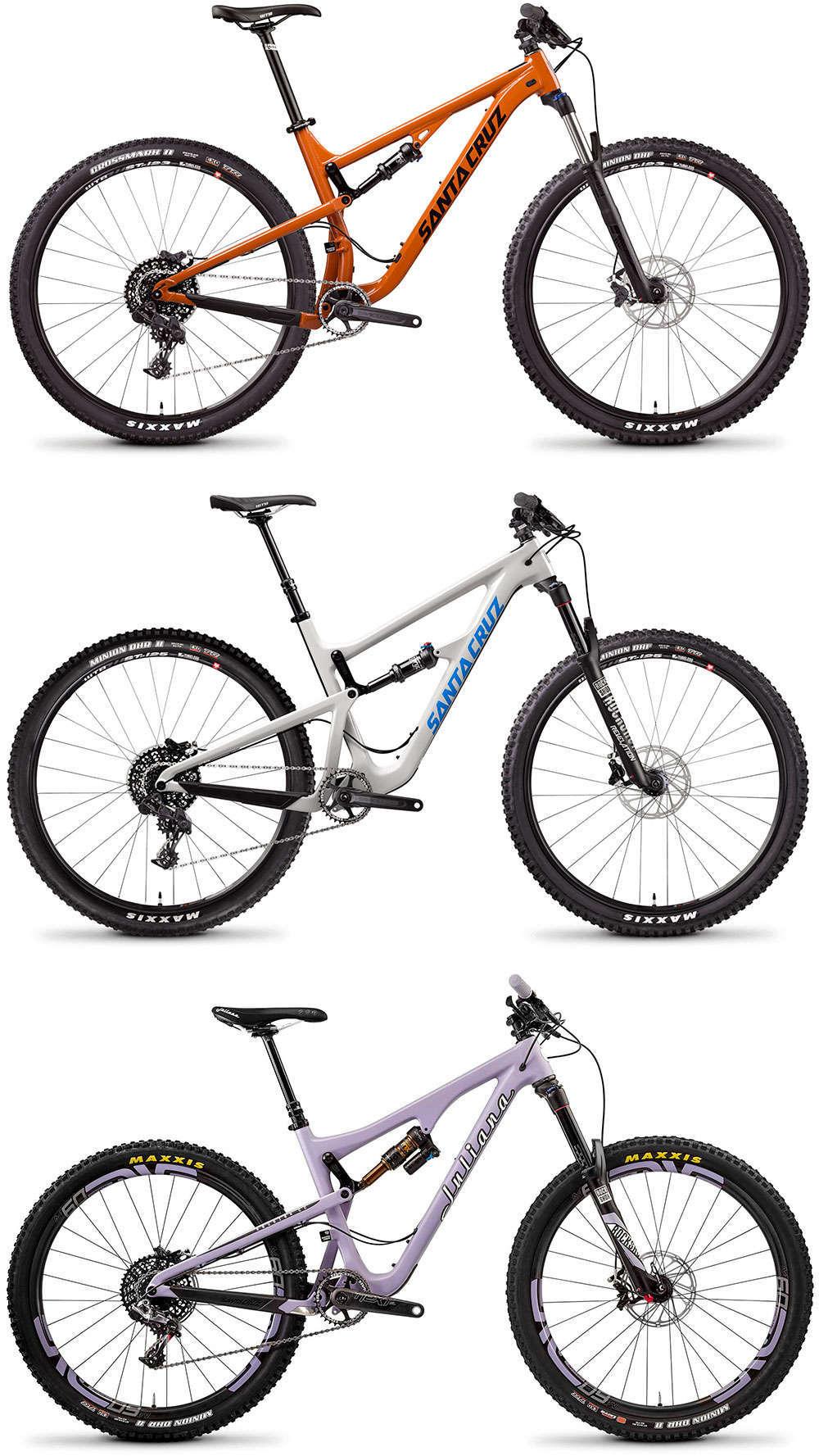 En TodoMountainBike: Reducción de precio en España para las bicicletas de Santa Cruz y Juliana Bicycles