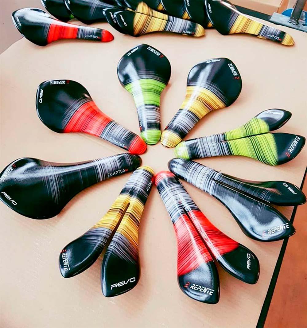 Los sillines de carbono Repente estrenan una colorida gama de cubiertas intercambiables