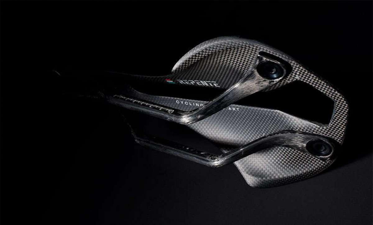 Repente, un interesante sillín de carbono con cubierta intercambiable