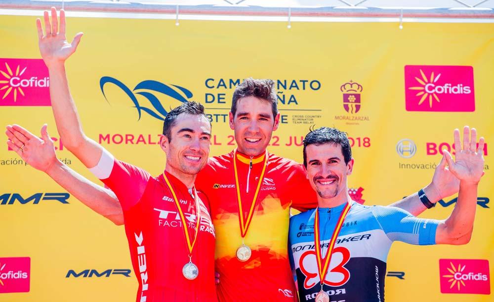 En TodoMountainBike: Campeonato de España XCO 2018: David Valero y Clàudia Galicia, campeones en categoría Élite