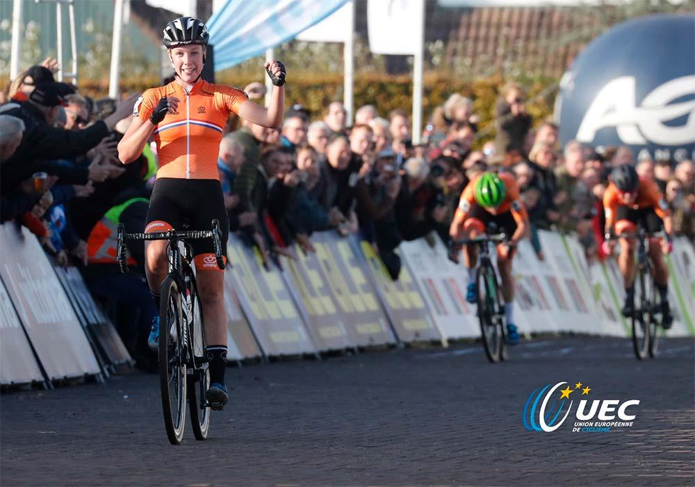 En TodoMountainBike: Mathieu van der Poel y Annemarie Worst se proclaman campeones de Europa de ciclocross
