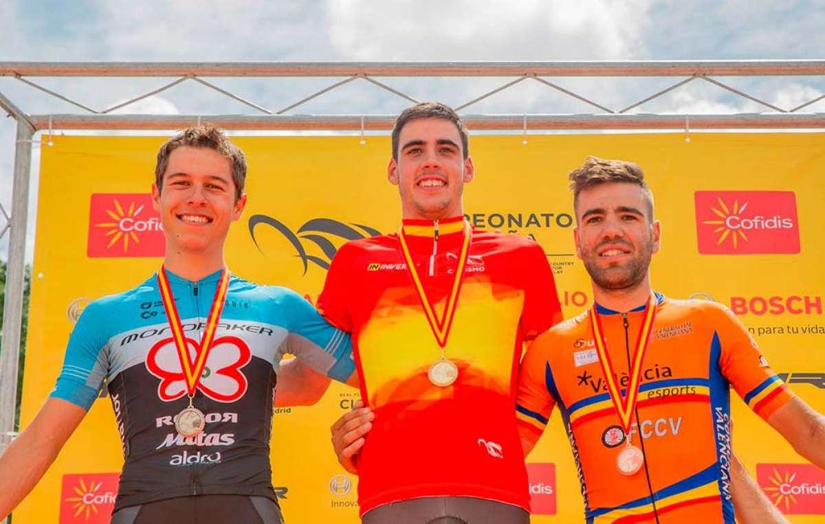 Campeonato de España XCO 2018: Jofre Cullell y Rocío del Alba, los mejores en categoría Sub-23