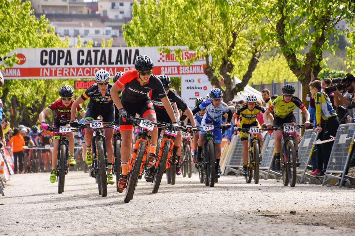 Victoria para Oliver Avilés y Sandra Santanyes en la Copa Catalana Internacional BTT Biking Point 2018 de Santa Susanna