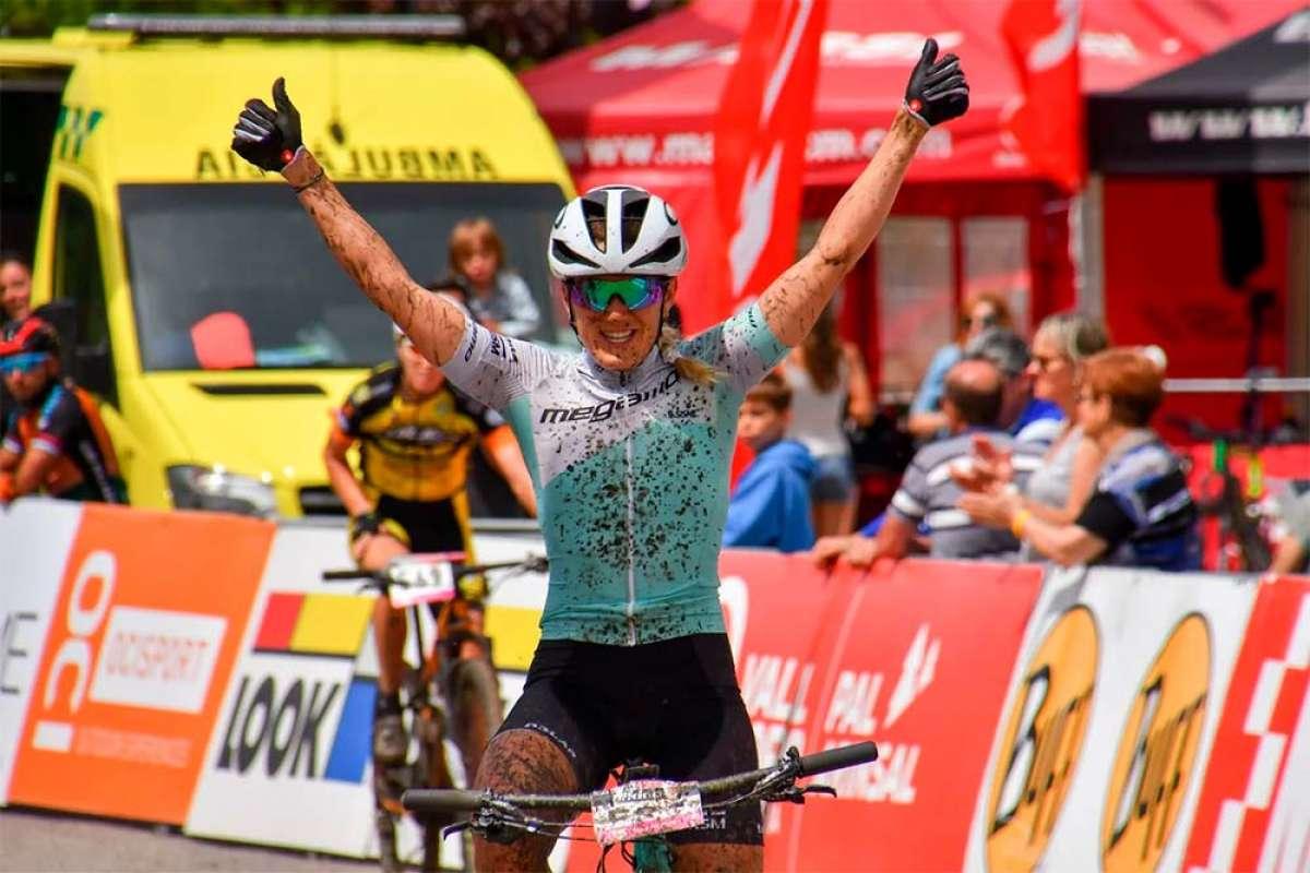Vlad Dascalu y Clàudia Galicia se imponen en la penúltima cita de la Copa Catalana Internacional BTT Biking Point 2018
