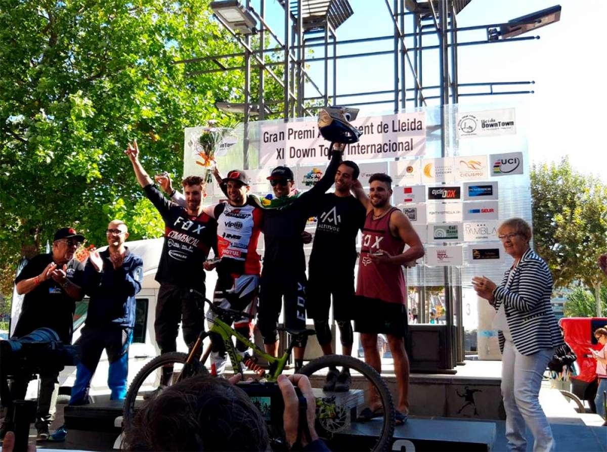 Henrique Miranda y Cristina Urgell ganan el XI Downtown Gran Premi Internacional Ciutat de Lleida
