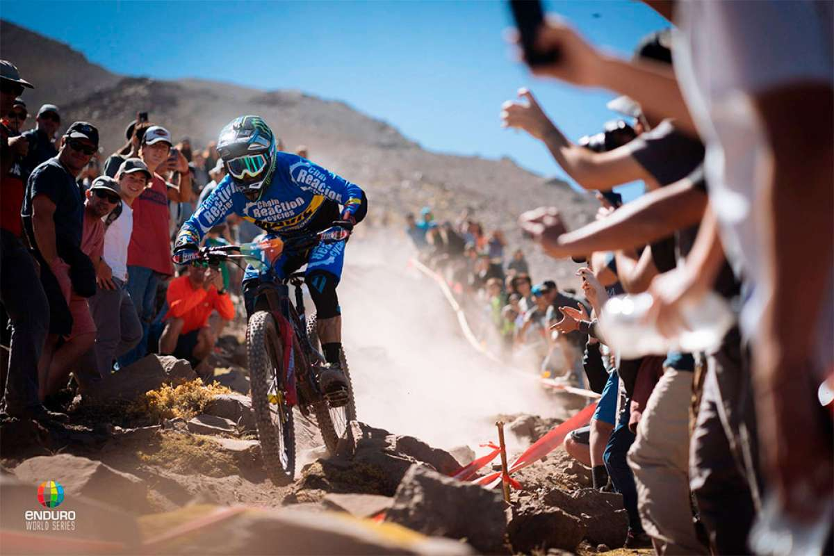 Las Enduro World Series 2018 arrancan en Chile con victoria para Sam Hill y Cecile Ravanel