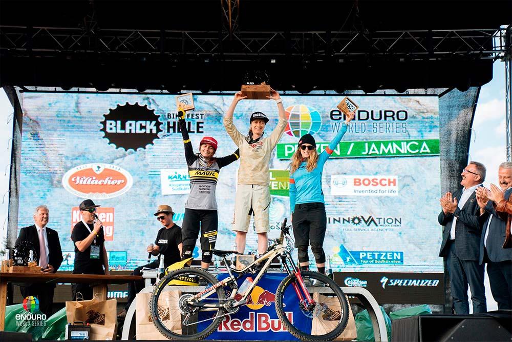 En TodoMountainBike: Sam Hill y Cecile Ravanel se llevan la victoria en la cuarta ronda de las Enduro World Series 2018