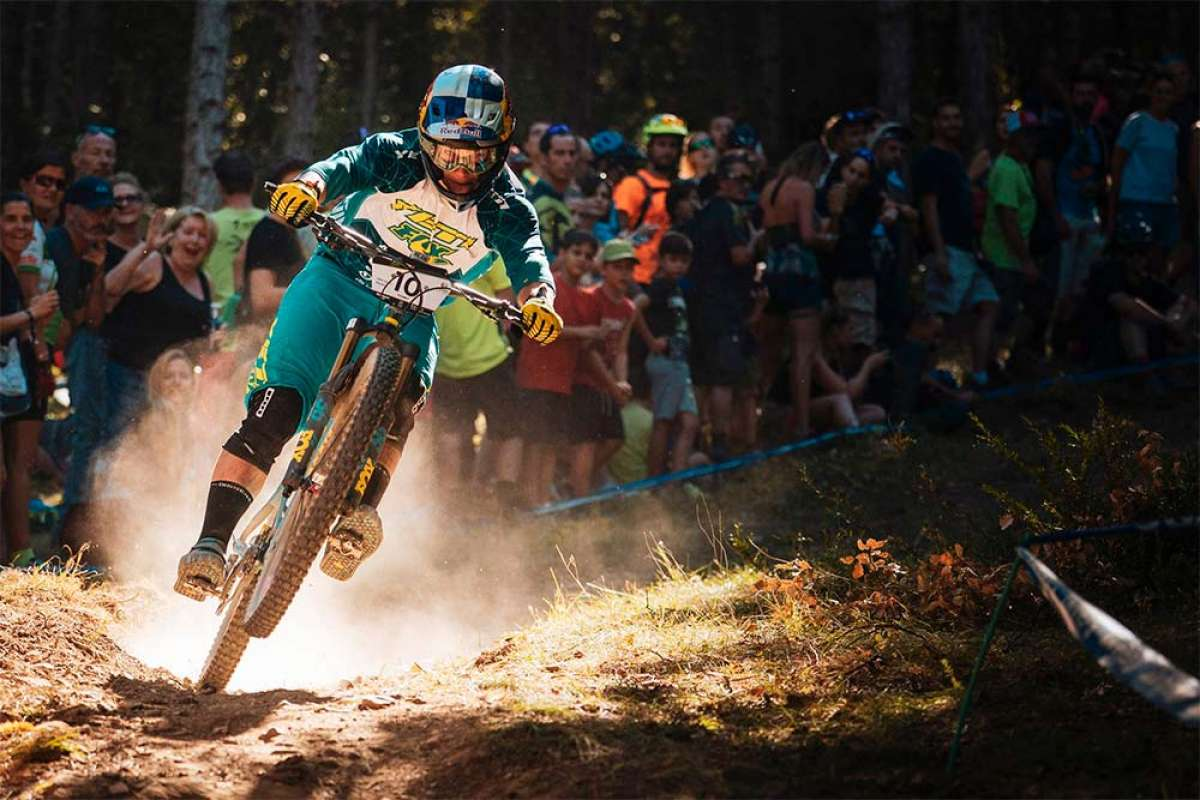 Richie Rude y Cecile Ravanel dominan las Enduro World Series 2018 de Zona Zero-Sobrarbe