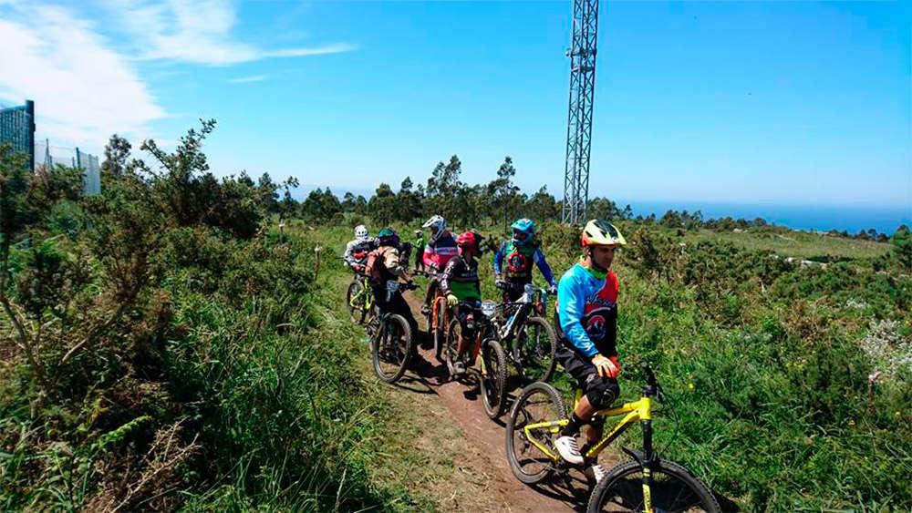 En TodoMountainBike: Desirée Duarte y Antonio Ferreiro, los más rápidos de la Montefaro Enduro Race 2018