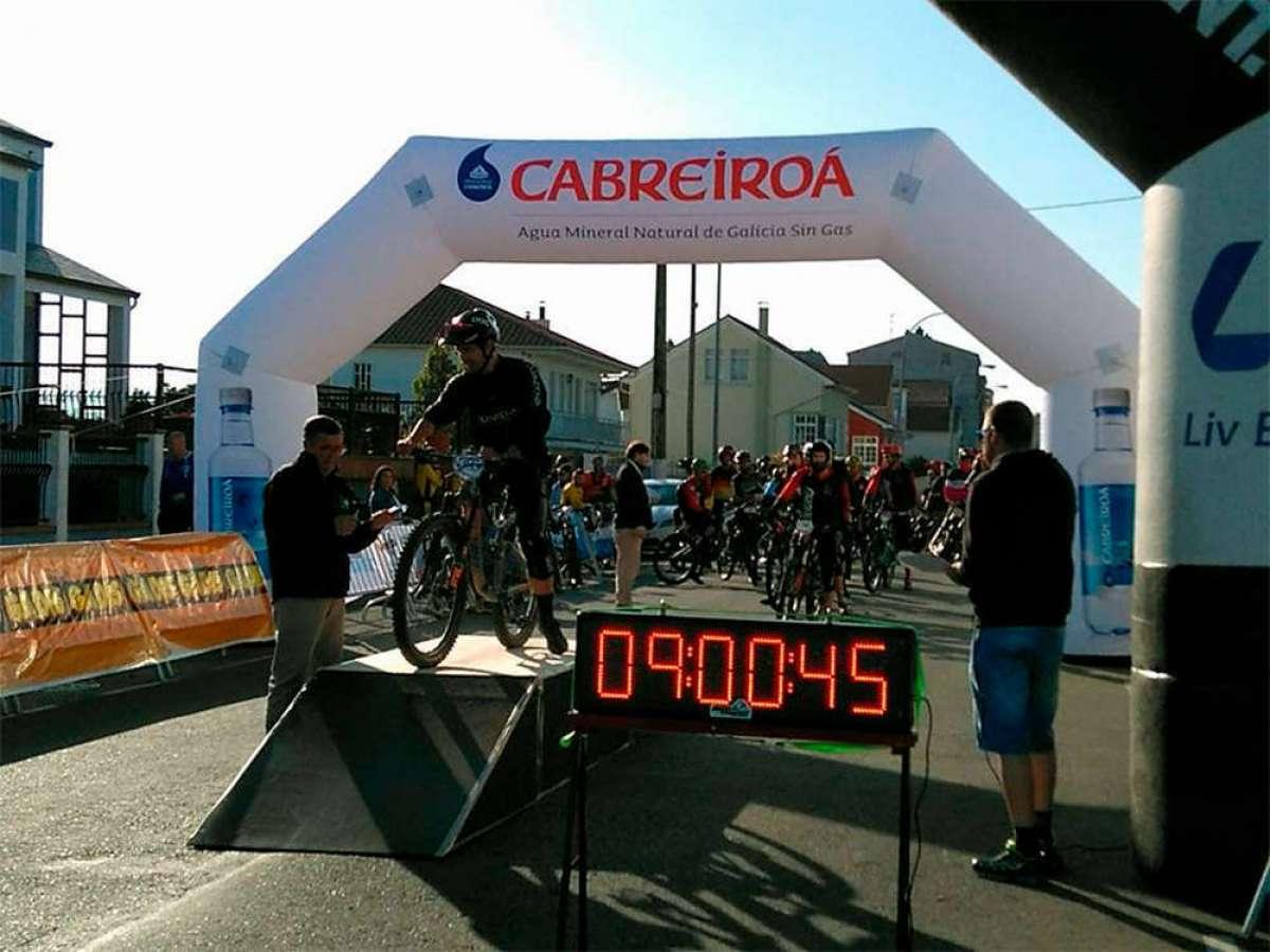 Desirée Duarte y Antonio Ferreiro, los más rápidos de la Montefaro Enduro Race 2018