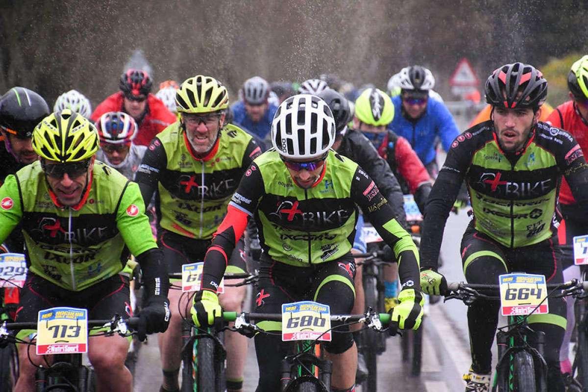 El frío, la lluvia y la nieve se ceban con la Noguera Bike Race 2018