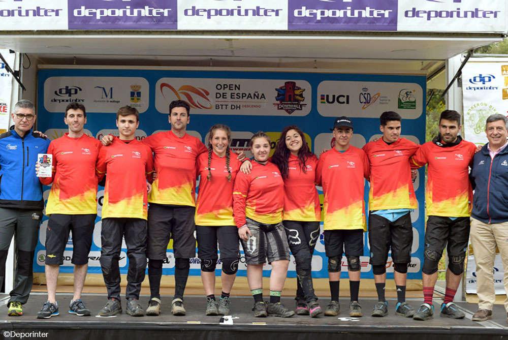 En TodoMountainBike: Edgar Carballo y Miriam Alcántara dominan la primera prueba del Open de España DH 2018