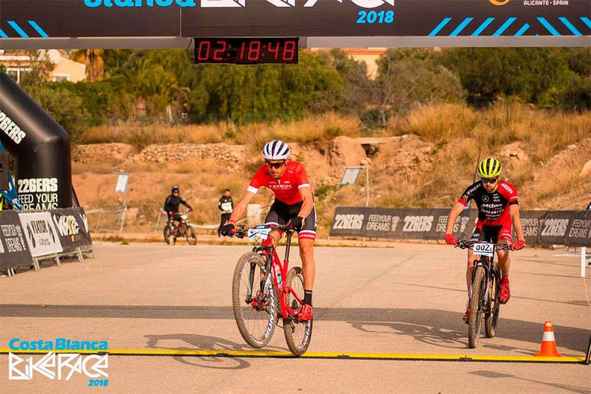 La Costa Blanca Bike Race 2018 arranca con victoria de Sergio Mantecón/Jan Skarnitzl y Rebecca McConnell/Raiza Goulao