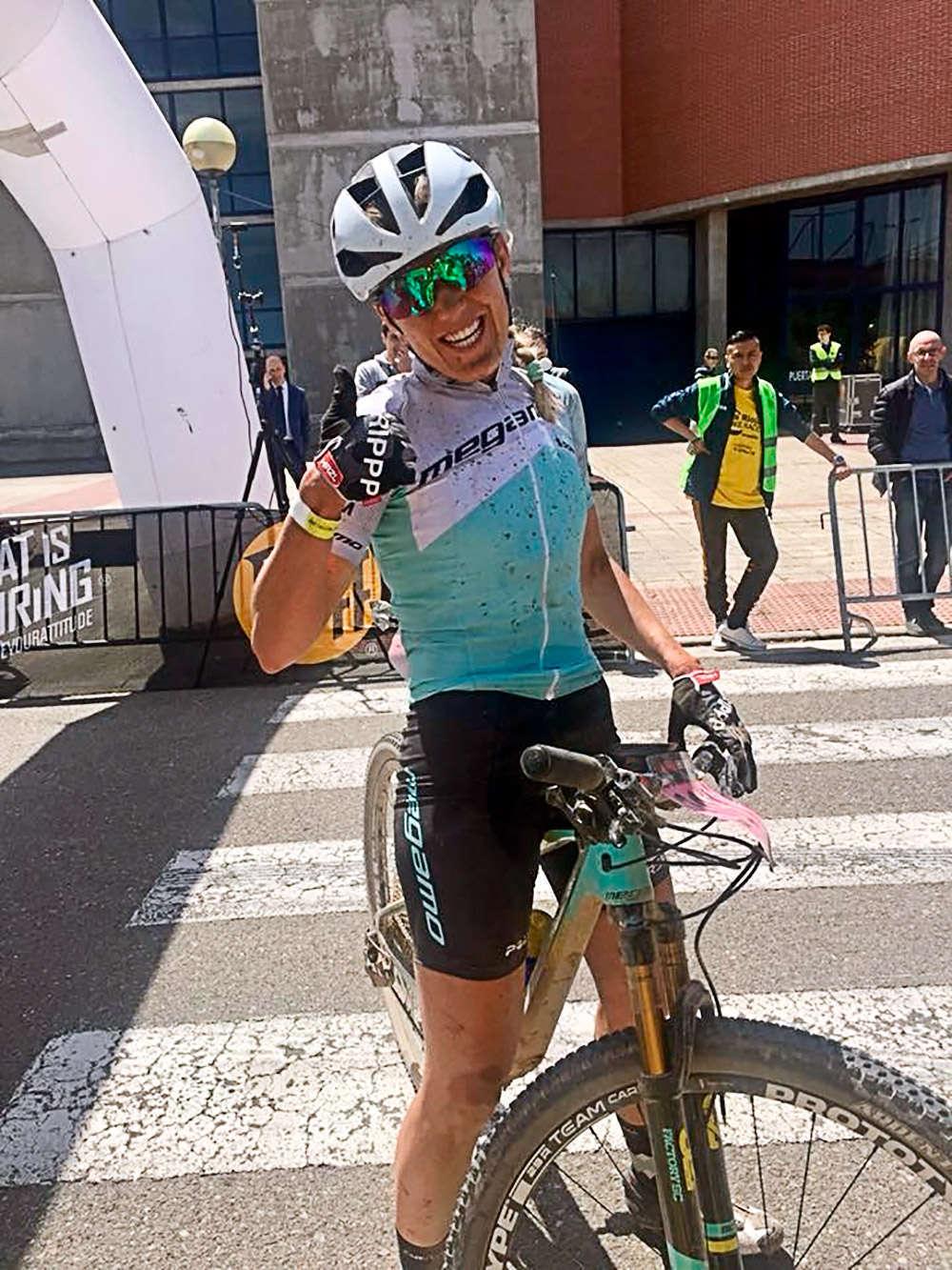 En TodoMountainBike: Primeros líderes en La Rioja Bike Race 2018: Mathieu van der Poel y Clàudia Galicia