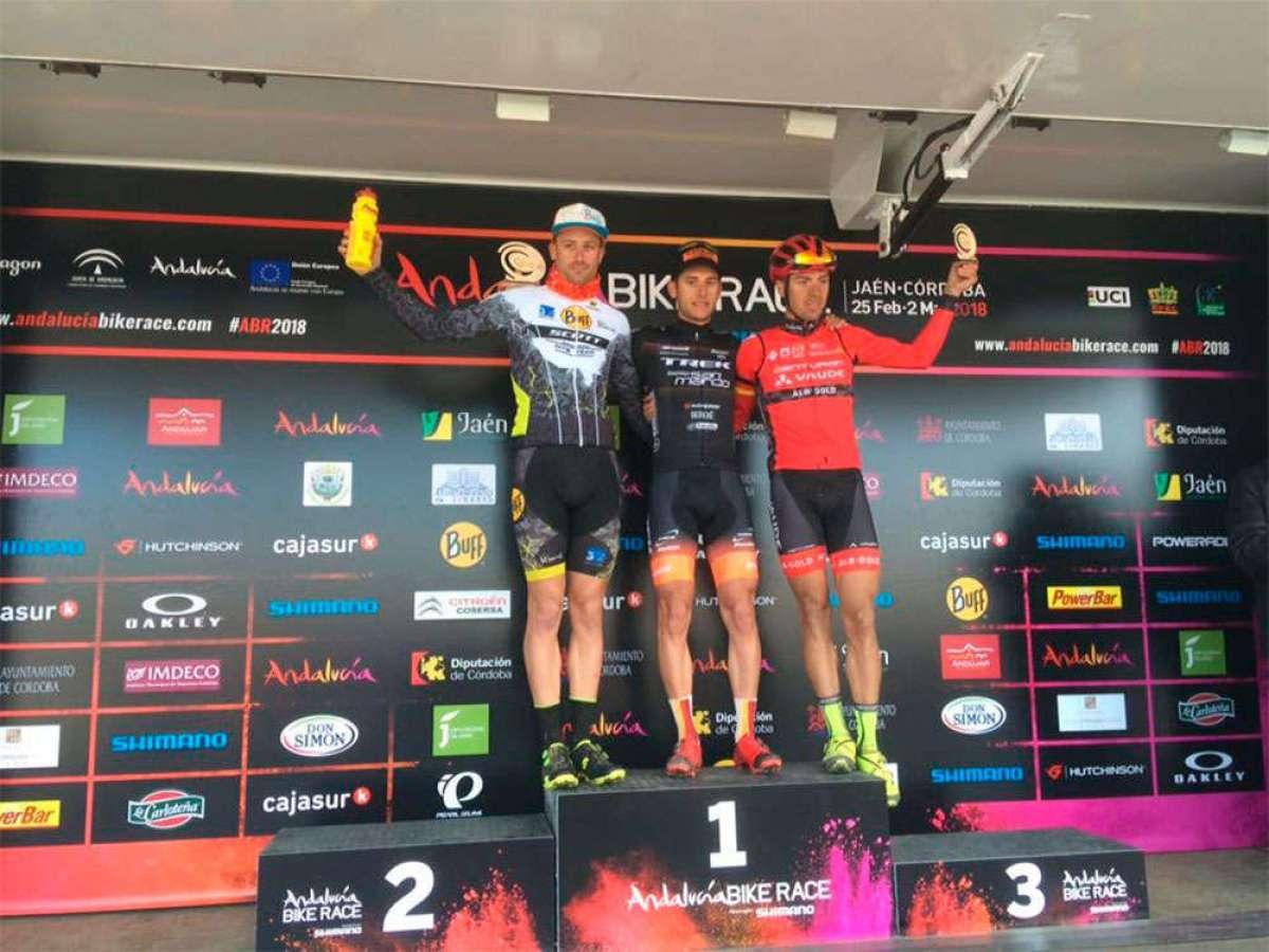 Michele Casagrande y Chloe Woodruff se llevan la segunda etapa de la Andalucía Bike Race presented by Shimano 2018