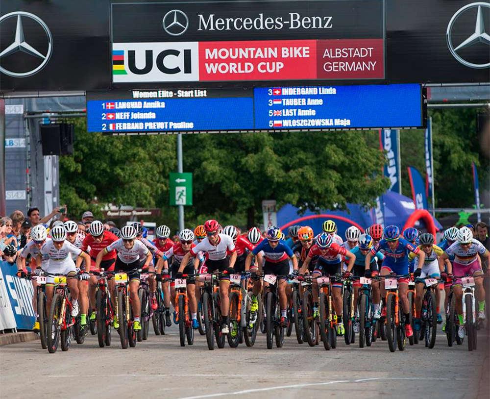 En TodoMountainBike: Mathieu van der Poel y Annika Langvad se imponen en el primer Short Track de la Copa del Mundo XCO 2018