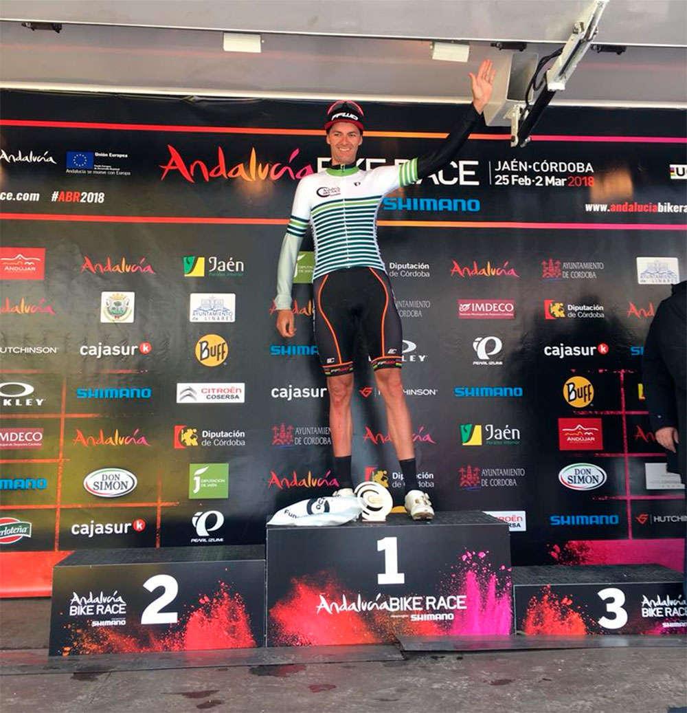 En TodoMountainBike: Triplete para el DMT Racing y cambio de líder en la general femenina tras la tercera etapa de la Andalucía Bike Race 2018