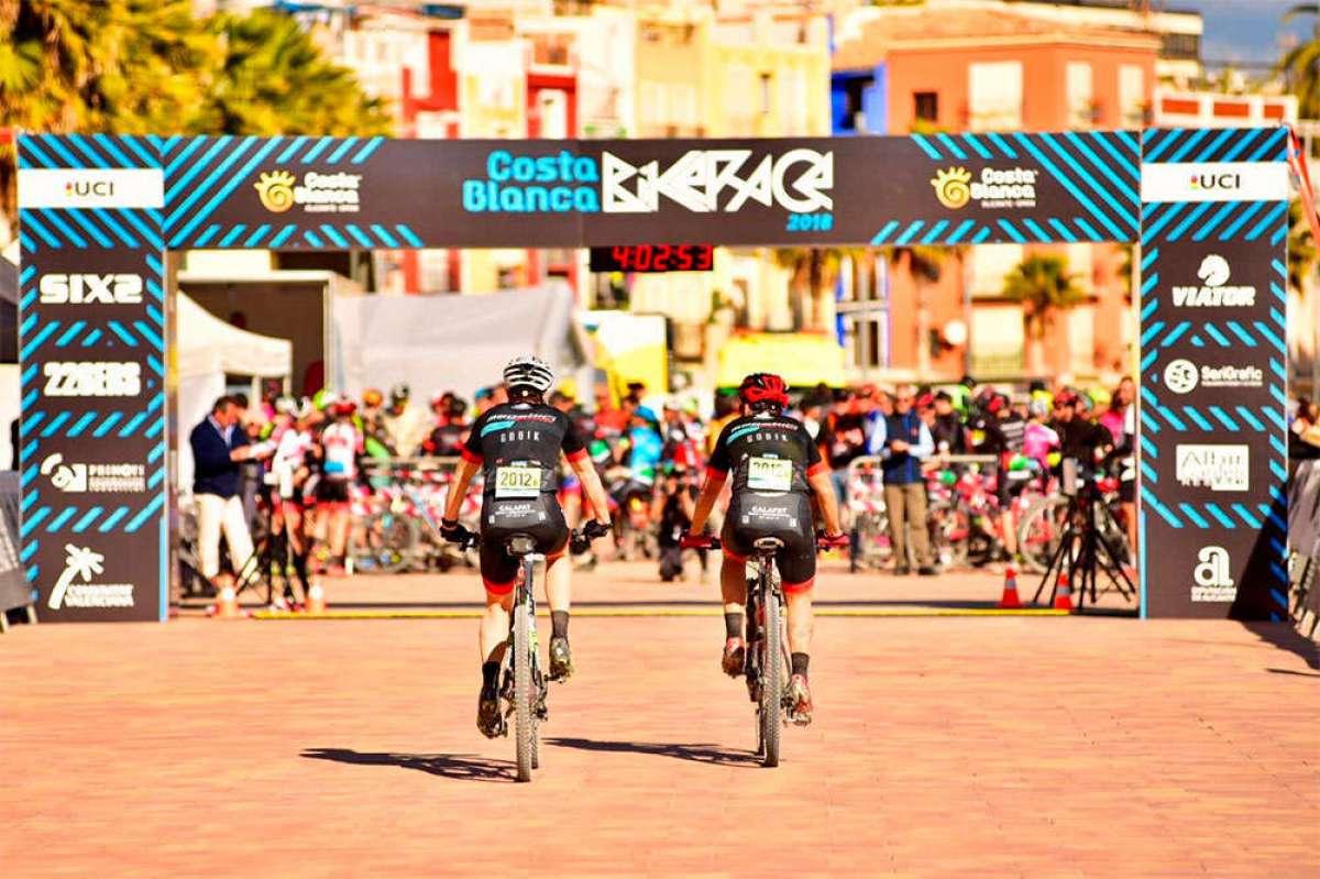 Las parejas Sebastian Fini/Grant Ferguson y Raiza Goulao/Rebecca McConnell repiten victoria en la tercera etapa de la Costa Blanca Bike Race 2018