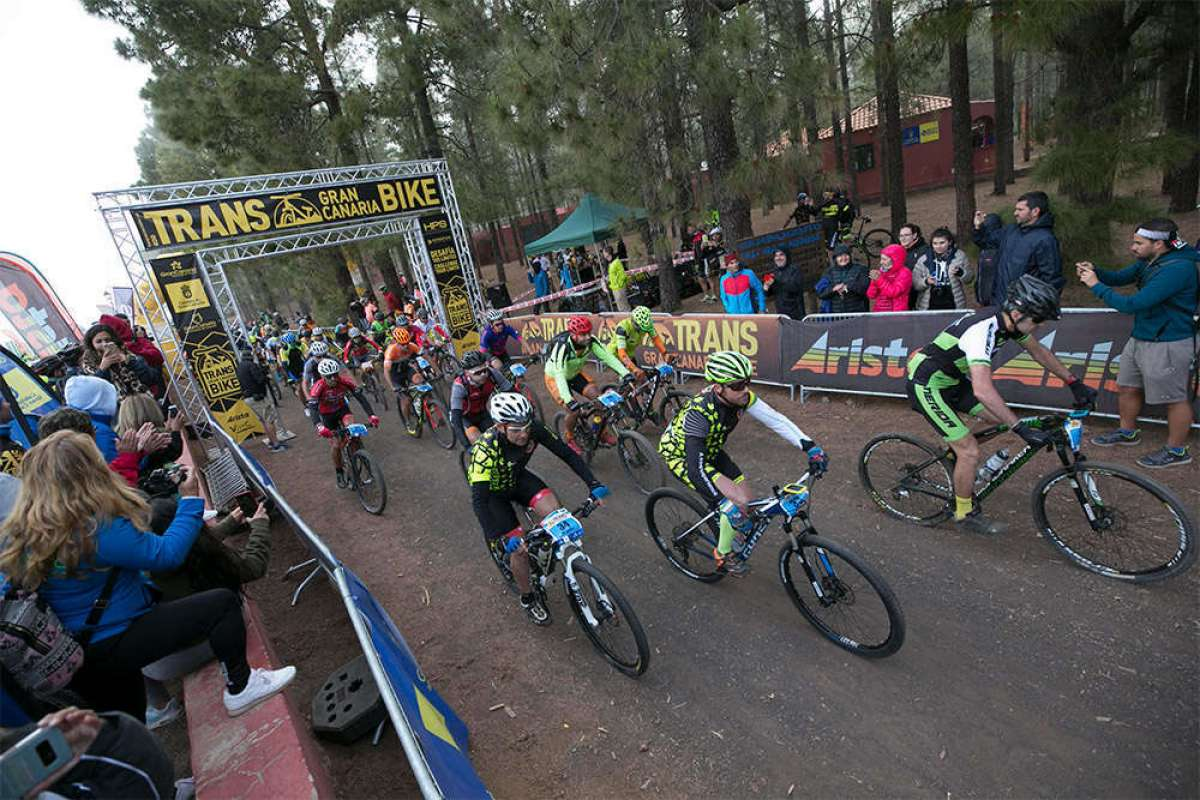 Francesc Guerra y Lourdes Bethencourt se llevan la III Transgrancanaria Bike