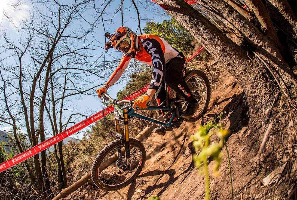 Carlos Von Heyden y Telma Torregrosa vencen en la Tuña Gravity DH Race 2018