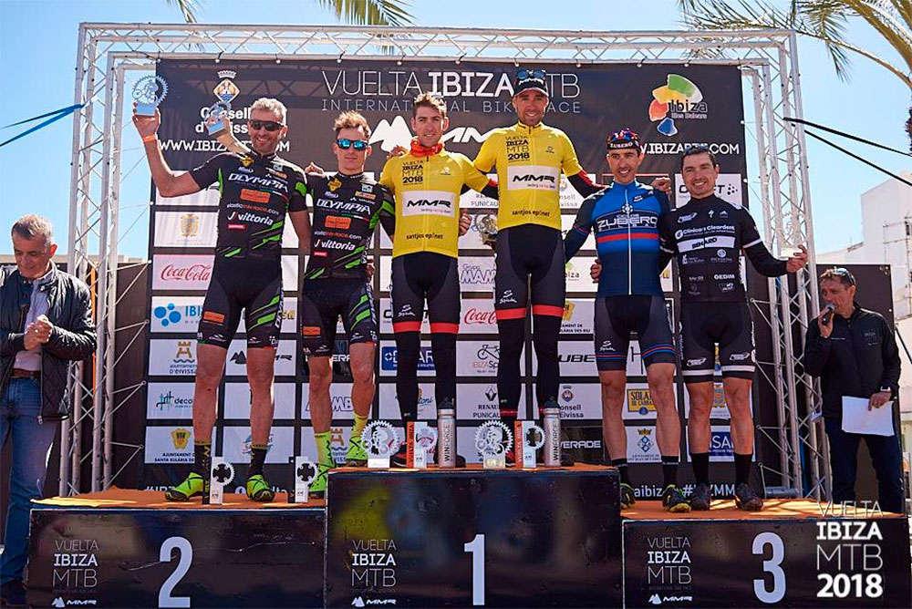 En TodoMountainBike: David Valero y Pablo Rodríguez se llevan la victoria en la Vuelta a Ibiza MTB 2018