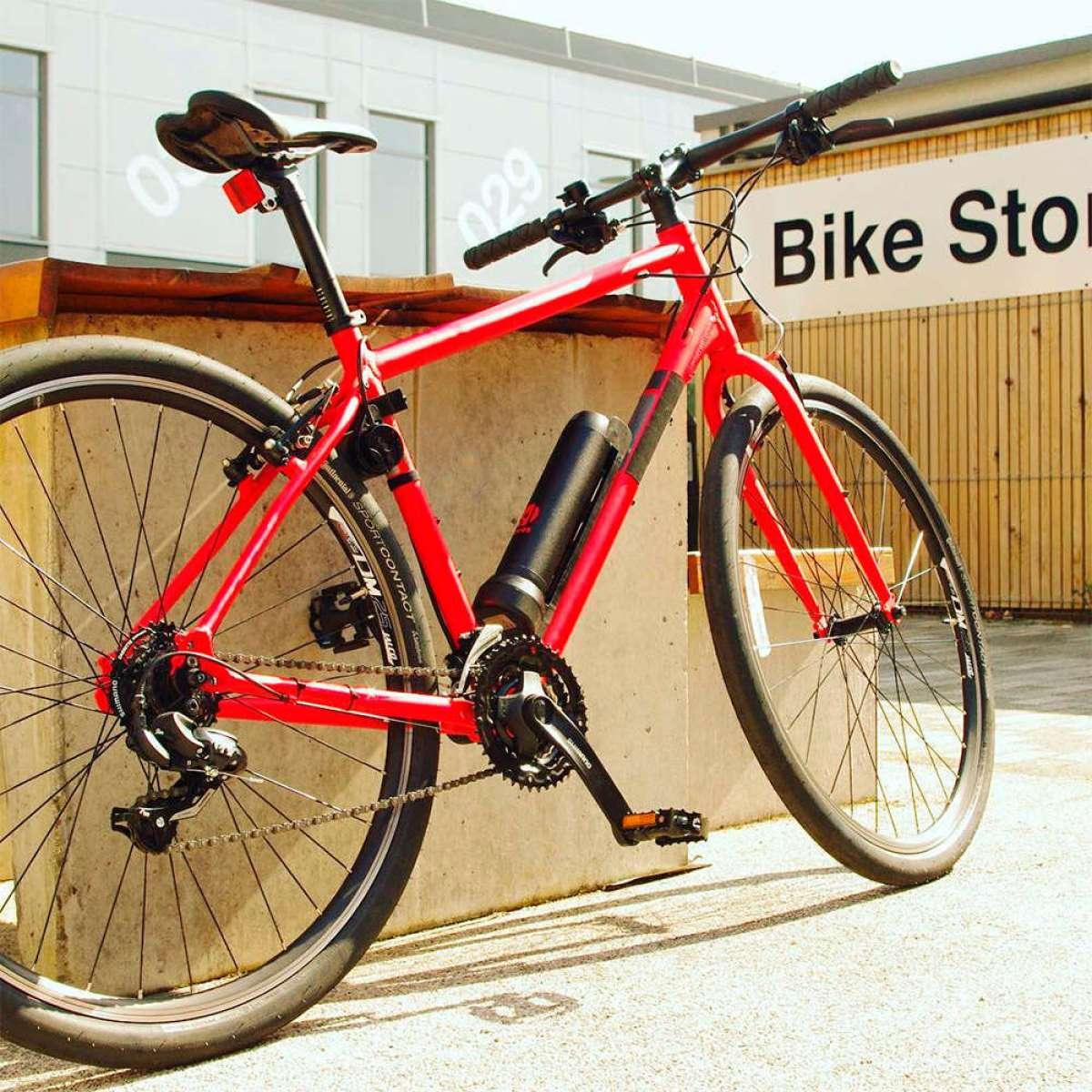 Revos, el sistema que transforma cualquier bicicleta normal en una bicicleta eléctrica
